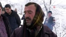 SEDAŞ ekiplerinden 1 buçuk metre karda drone ile arıza tespiti