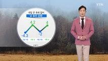 [날씨] 내일 큰 추위 없어...낮 동안 온화 / YTN