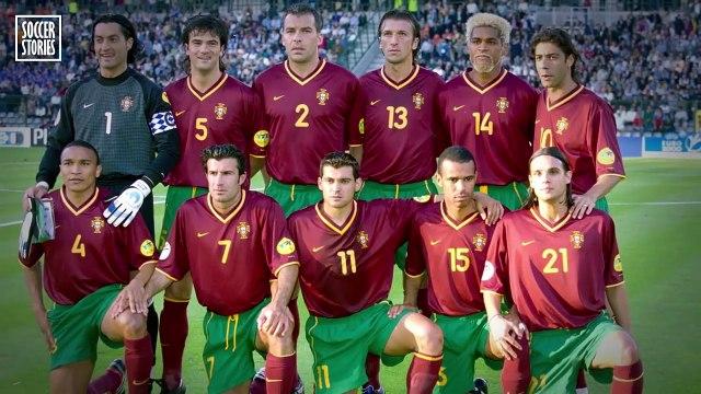 Ce qu'a fait Figo avant un penalty de Zidane montre à quel point le Français était fort