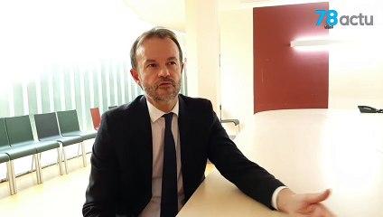 Interview de Pascal Bellon, directeur de l'hôpital André-Mignot du Chesnay-Rocquencourt (Yvelines)
