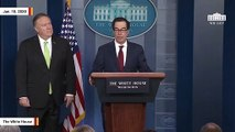 Mnuchin, Pompeo Announce New Iran Sanctions