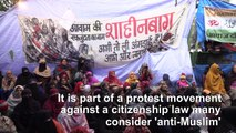 India's road-block women vow to fight on against citizenship law