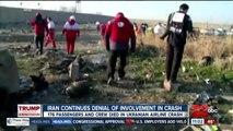 Iran continues denial of involvement in plane crash