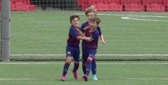 Le joli but du fils de Lionel Messi