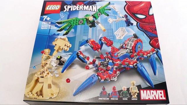 LEGO 76114 Spider-Man's Spider Crawler Superheroes