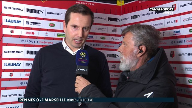 La réaction de Julien Stéphan après Rennes / Marseille - Late Football Club
