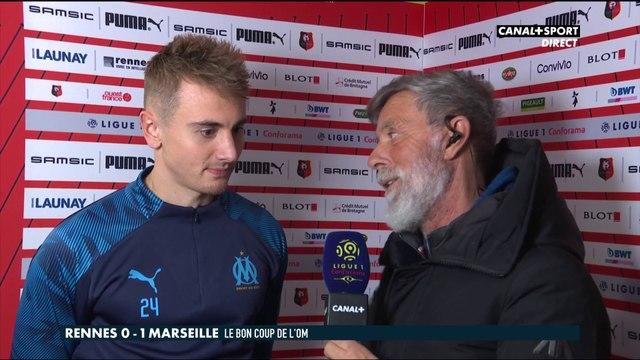 La réaction de Valentin Rongier après Rennes / Marseille - Late Football Club