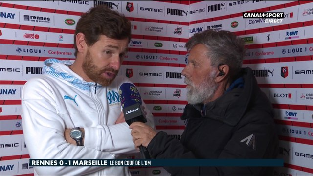 La réaction d'André Villas-Boas après Rennes / Marseille - Late Football Club