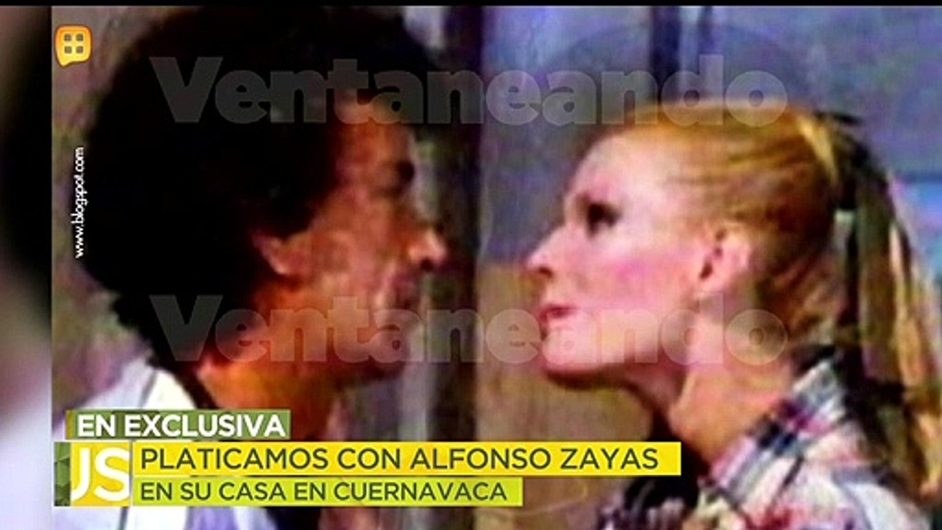 ¿Alfonso Zayas cedió a los encantos de alguna de las actrices con las que trabajó? | Ventaneando