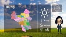 11/01/2020 Vietnam weather forecast