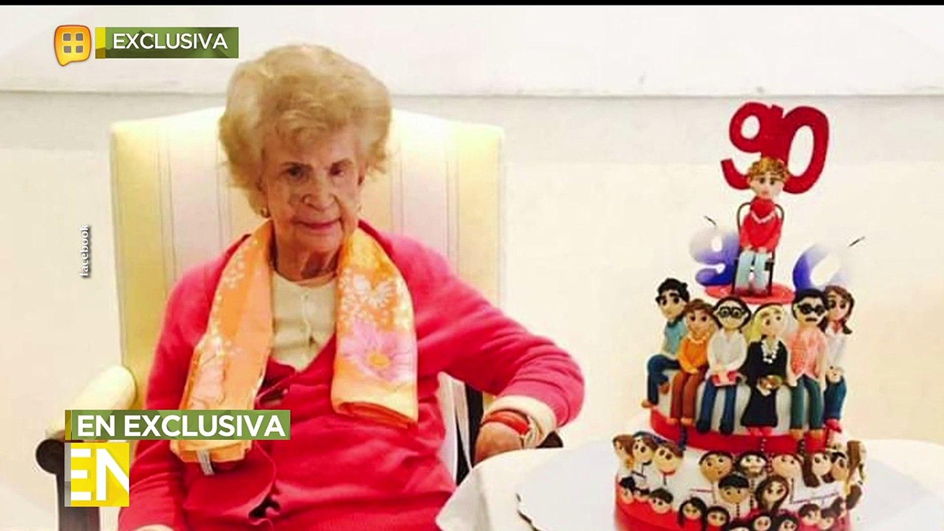 Guadalupe Pineda le dio el último adiós a su mamá y nos contó detalles de su partida.   Ventaneando
