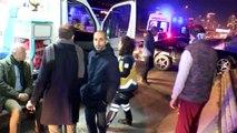 Ataşehir tem otoyolu'nda kaza 4 yaralı