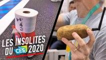 Patate connectée, robot papier toilette... nos insolites du CES 2020