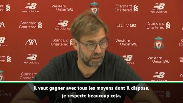 """22e j - Klopp : """"Mourinho est un entraîneur de classe mondiale avec un état d'esprit particulier"""""""