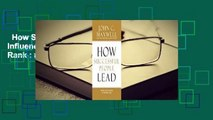 How Successful People Lead: Taking Your Influence to the Next Level  Best Sellers Rank : #4
