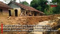Begini Penampakan Sukajaya Bogor yang Terisolasi akibat Longsor