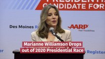 Marianne Williamson Is Out