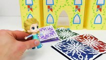 Best Toy Learning Videos for Kids Frozen Elsa's Princess Birthday Party-