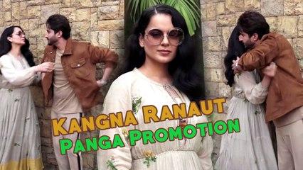 Kangana Ranaut spotted At Mumbai Airport | Back From Panga shoot