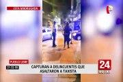 Pueblo Libre: dos jóvenes se vestían de mujer para asaltar a taxistas
