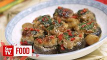 Retro Recipe: Stuffed Chinese mushrooms