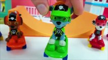 Paw Patrol Mighty Pups vs Romeo Wrong Color Video for Kids-