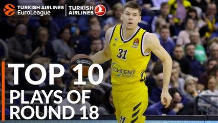 Regular Season, Round 18: Top 10 plays