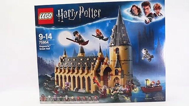 LEGO 75954 HogwartsTM Great Hall - Harry Potter Speed Build