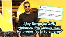 Ajay Devgn on JNU violence: ' We should wait for proper facts to emerge'