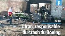 Crash du Boeing ukrainien: l'Iran avoue sa responsabilité