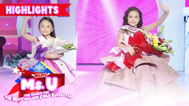 Gav Villanueva and Jacey Wills enter the Mini Miss U semifinals | It's Showtime Mini Miss U