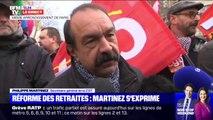 """Philippe Martinez: """"Nous n'avons pas changé d'avis"""" sur la réforme des retraites"""