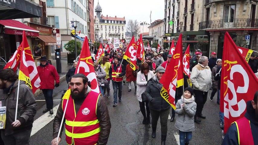 Manifestation contre la réforme des retraites - Samedi 11 janvier 2020
