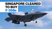 Singapore cleared to buy the  F-35B | Defense News Minute, January 10th, 2019