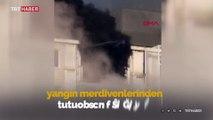 Başakşehir'deki fabrika yangınında can pazarı