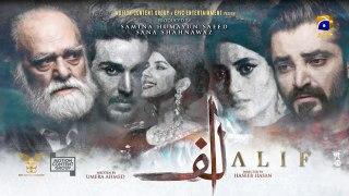 Alif | Episode 15 | 11th January 2020 | HAR PAL GEO Drama