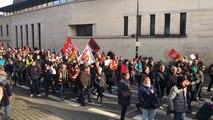 Manifestation contre la réforme des retraites le samedi 11 janvier