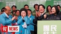 Taiwanese President wins by landslide in stinging rebuke to China