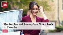 Duchess Meghan Is Back In Canada