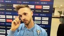 Lazio - Napoli: Lazzari in mixed zone