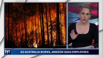 As Australia Burns, Amazon Gags Employees
