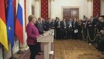 Alemania mira a Rusia para paliar tensiones en Irán y el conflicto en Libia