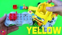 Car Truck toy unboxing with Learn colors for kids