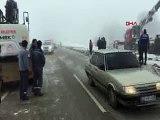 Isparta'da yolcu otobüsü devrildi