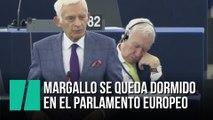 Margallo se duerme en el Parlamento Europeo