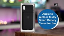 Apple to replace faulty Smart Battery Cases for free