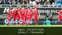 Ligue 1 : Amiens - Montpellier (1-2) | 2019-2020