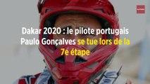Dakar 2020 : le pilote portugais Paulo Gonçalves se tue lors de la 7e étape
