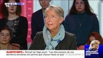 """Élisabeth Borne déclare que le recours au 49-3 pour faire passer la réforme des retraites """"est une fausse information"""""""