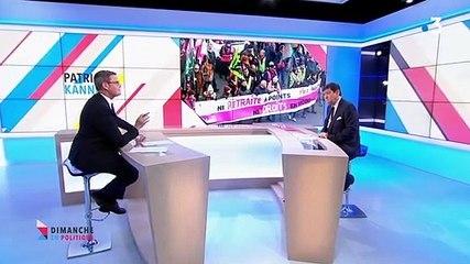 Patrick Kanner - France 3 dimanche 12 janvier 2020